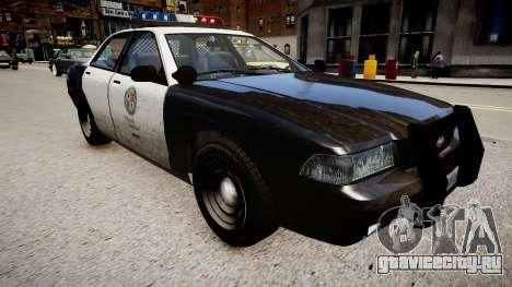 Полицейская машина из GTA V для GTA 4