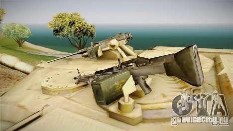 Abrams of Hell для GTA San Andreas вид сзади