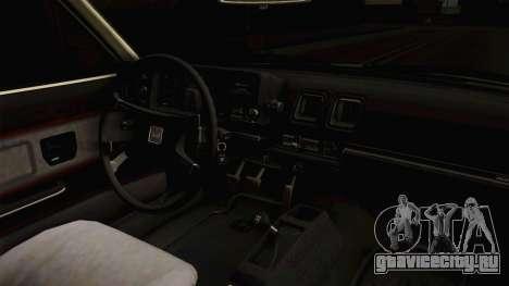 Honda Prelude 1980 для GTA San Andreas вид изнутри