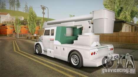 GTA 5 Brute Utility Truck для GTA San Andreas вид слева
