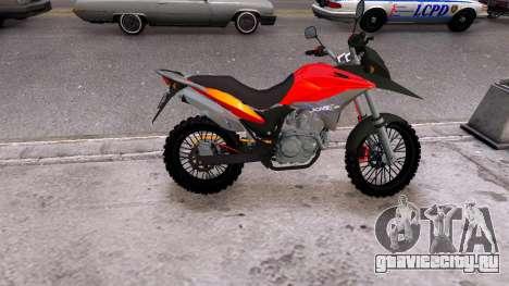 Honda CB750 (bagger) для GTA 4