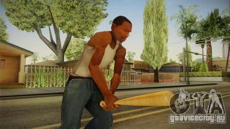 Wooden Bat для GTA San Andreas третий скриншот
