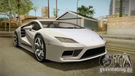 GTA 5 Pegassi Tempesta для GTA San Andreas вид справа