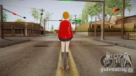 Shizuku Mizutani (Tonari no Kaibutsu-Kun) для GTA San Andreas третий скриншот