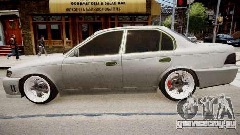Toyota Corolla EmreAKIN Edition для GTA 4 вид слева