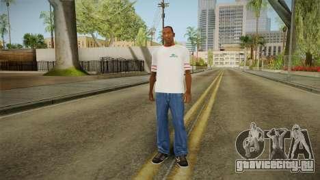 Новогодняя футболка для GTA San Andreas третий скриншот