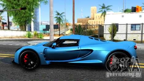 Hennessey Venom GT для GTA San Andreas вид слева