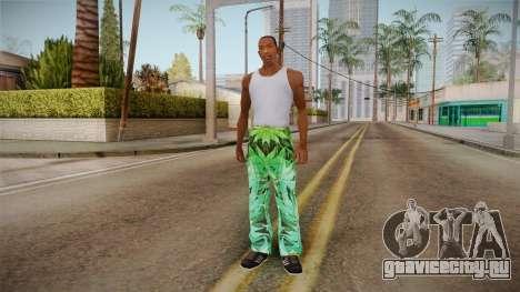 Трико с коноплёй для GTA San Andreas третий скриншот