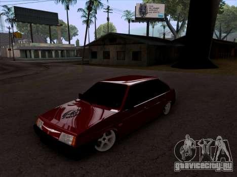 ВАЗ 2109 БПАН для GTA San Andreas вид справа