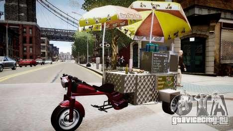 Hotdog Express для GTA 4 вид слева