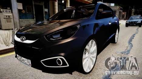 Hyundai ix35 DUB для GTA 4