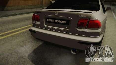 Honda Civic 1.6 iES для GTA San Andreas вид сбоку