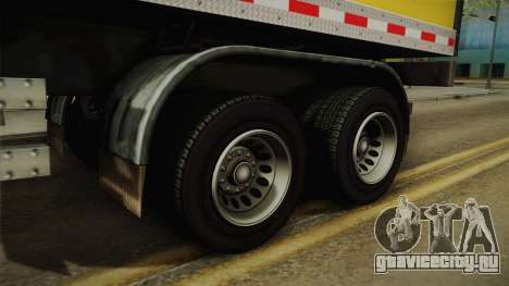 GTA 5 Refrigerated Trailer IVF для GTA San Andreas