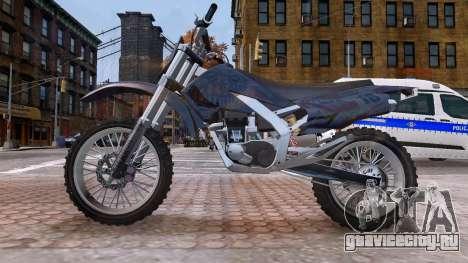 GTA V Sanchez Mod для GTA 4 вид слева
