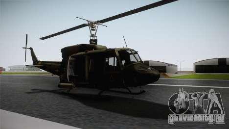 Bell UH-1N для GTA San Andreas вид сзади слева