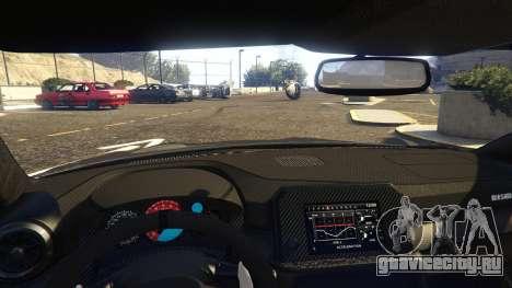 Nissan GTR Nismo 2017 для GTA 5 вид справа