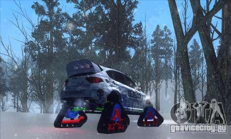 Subaru Impreza WRX STi Snow для GTA San Andreas вид слева