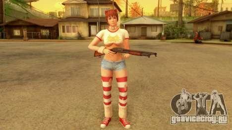 Dead Or Alive 5 LR Kasumi Halloween 2016 Edited для GTA San Andreas