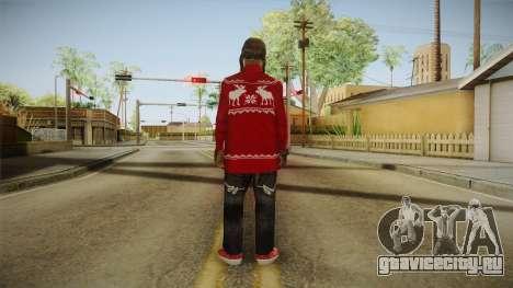Winter Fam2 для GTA San Andreas третий скриншот