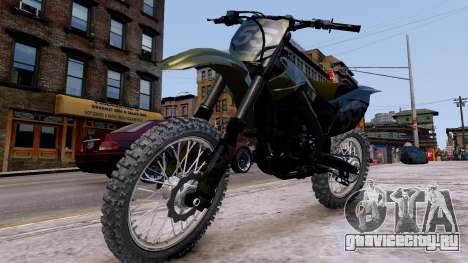 Suzuki RMZ для GTA 4