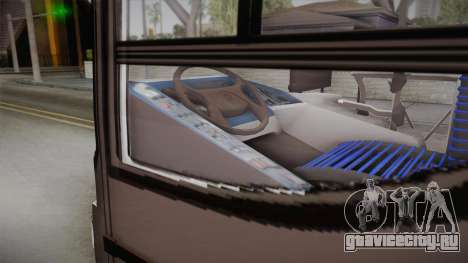 Italbus Bello 2016 Mendoza для GTA San Andreas вид сзади слева
