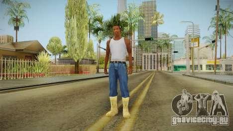 Зимние валенки для GTA San Andreas третий скриншот