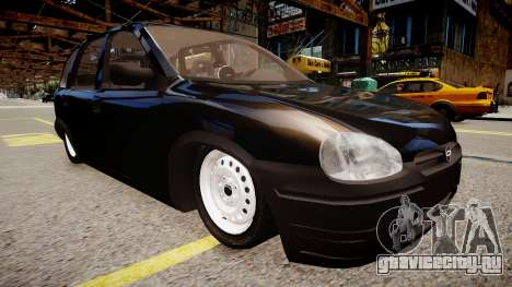 Chevrolet Corsa Hatch для GTA 4