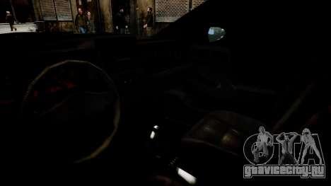 Pfister - Rebla для GTA 4 вид изнутри