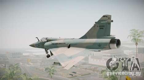 EMB Dassault Mirage 2000-C FAB для GTA San Andreas вид слева