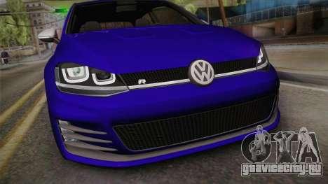 Volkswagen Golf 7R 2015 Beta V1.00 для GTA San Andreas