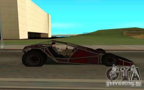 Bf Buggy Ramp для GTA San Andreas вид сзади слева