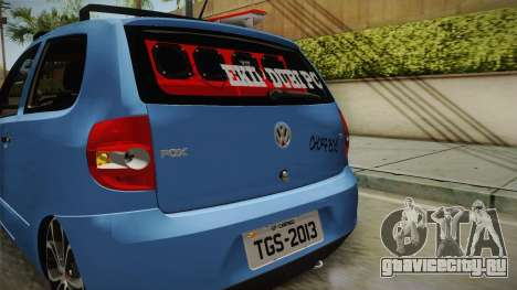 Volkswagen Fox для GTA San Andreas вид сбоку