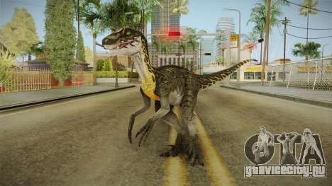 Primal Carnage Velociraptor Thunderstruck для GTA San Andreas второй скриншот