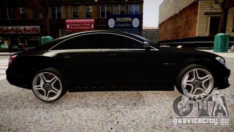 Mercedes-Benz CLS 6.3 AMG'12 для GTA 4 вид слева