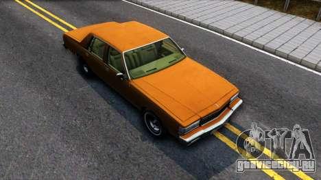 Chevrolet Caprice 1987 для GTA San Andreas вид справа