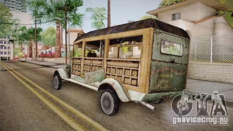 Автобус Ктулху для GTA San Andreas вид слева
