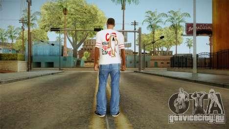 Новогодняя футболка для GTA San Andreas четвёртый скриншот
