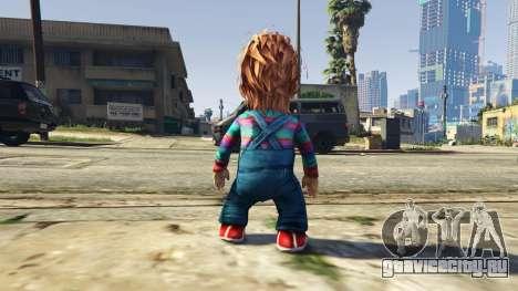 Chucky для GTA 5 третий скриншот