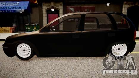 Chevrolet Corsa Hatch для GTA 4 вид справа