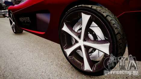 Modified Turismo для GTA 4 вид сзади