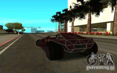 Bf Buggy Ramp для GTA San Andreas вид слева