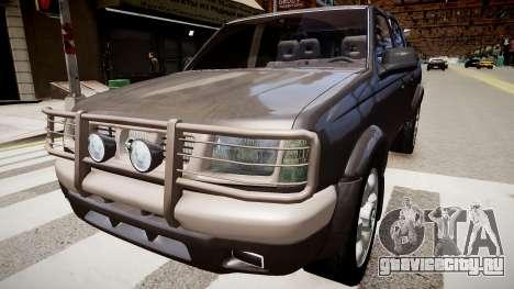 Nissan Navara Pickup Crew Cab для GTA 4