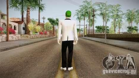 Joker White Suit 2.0 для GTA San Andreas третий скриншот