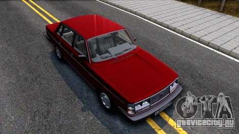 Volvo 244 Turbo для GTA San Andreas вид справа
