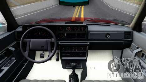 Volvo 244 Turbo для GTA San Andreas вид изнутри
