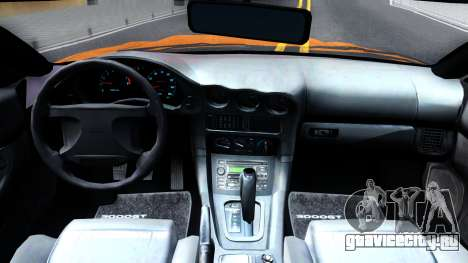 Mistubishi 3000GT 1992 для GTA San Andreas вид изнутри