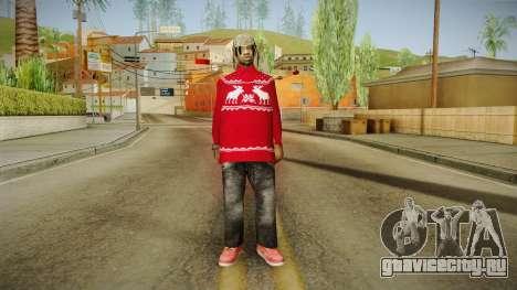 Winter Fam2 для GTA San Andreas второй скриншот