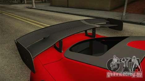 Dodge Viper ACR 2016 для GTA San Andreas вид сбоку