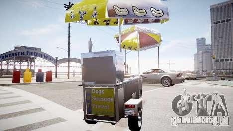 Hotdog Express для GTA 4 вид сзади слева