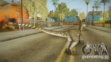 Primal Carnage Velociraptor Thunderstruck для GTA San Andreas третий скриншот